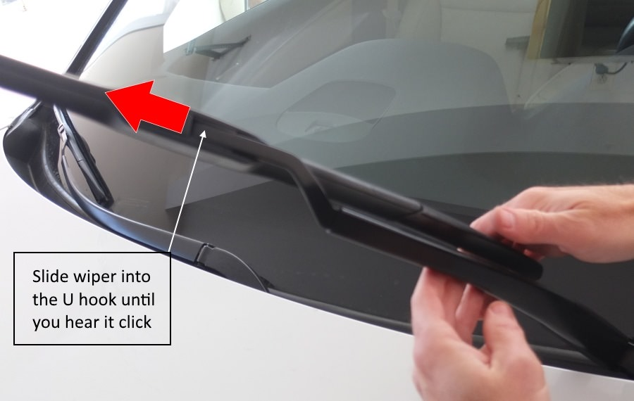 Audi Wiper Blade Replacement A3, S3, RS3, A4, S4, A5, S5, A6, S6, A7, S7, RS7, A8, S8, Q3, Q5, SQ5, Q7, TT, R8