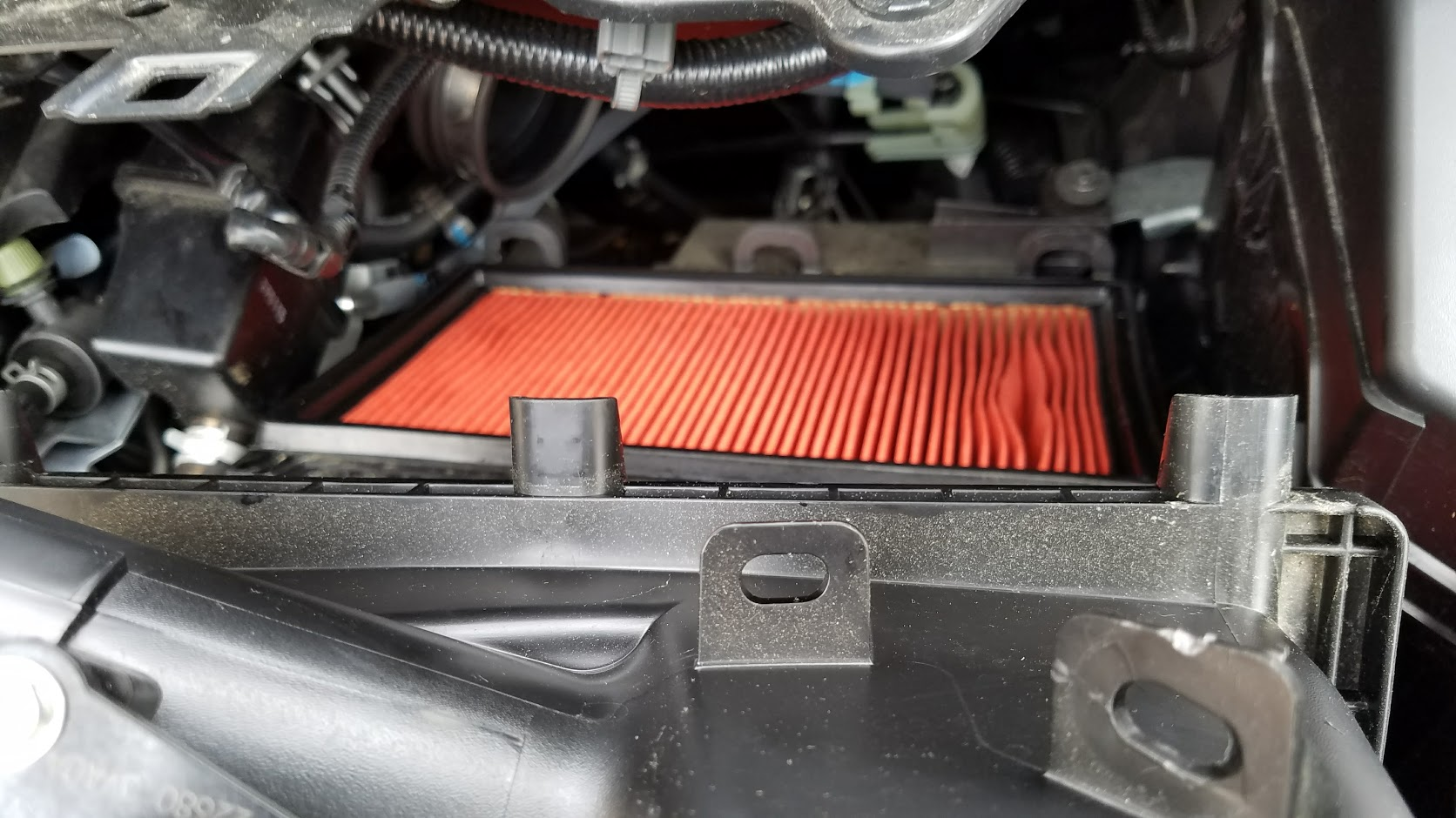 new air filter installed chassis