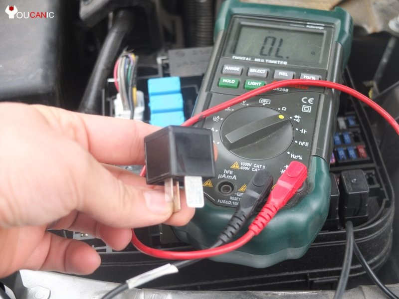 test horn fuse check horn relay