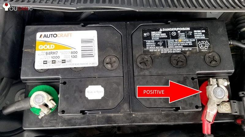 instruction on how to jump start Acura A S Q TT models  with dead battery