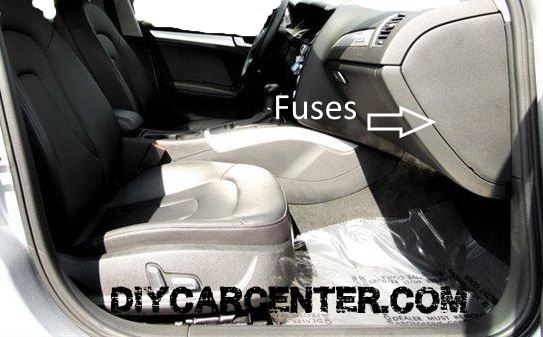 2 audi a4 fuses designation location list b8 2008 2015 2017 audi a4 fuse box location at gsmx.co