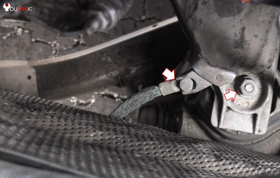 bmw e38 motor mount replacement