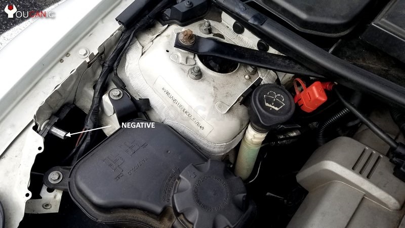 how to jump start 3-Series with jumper cables
