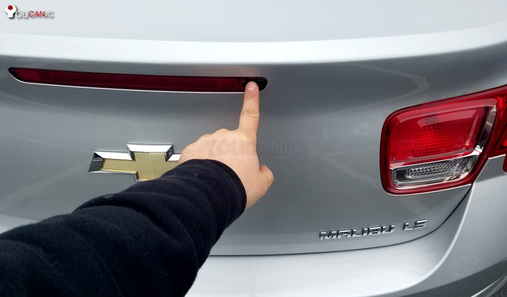 Chevrolet  trunk shuts won't stay up