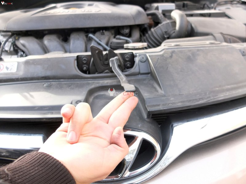 how to change engine oil on hyundai