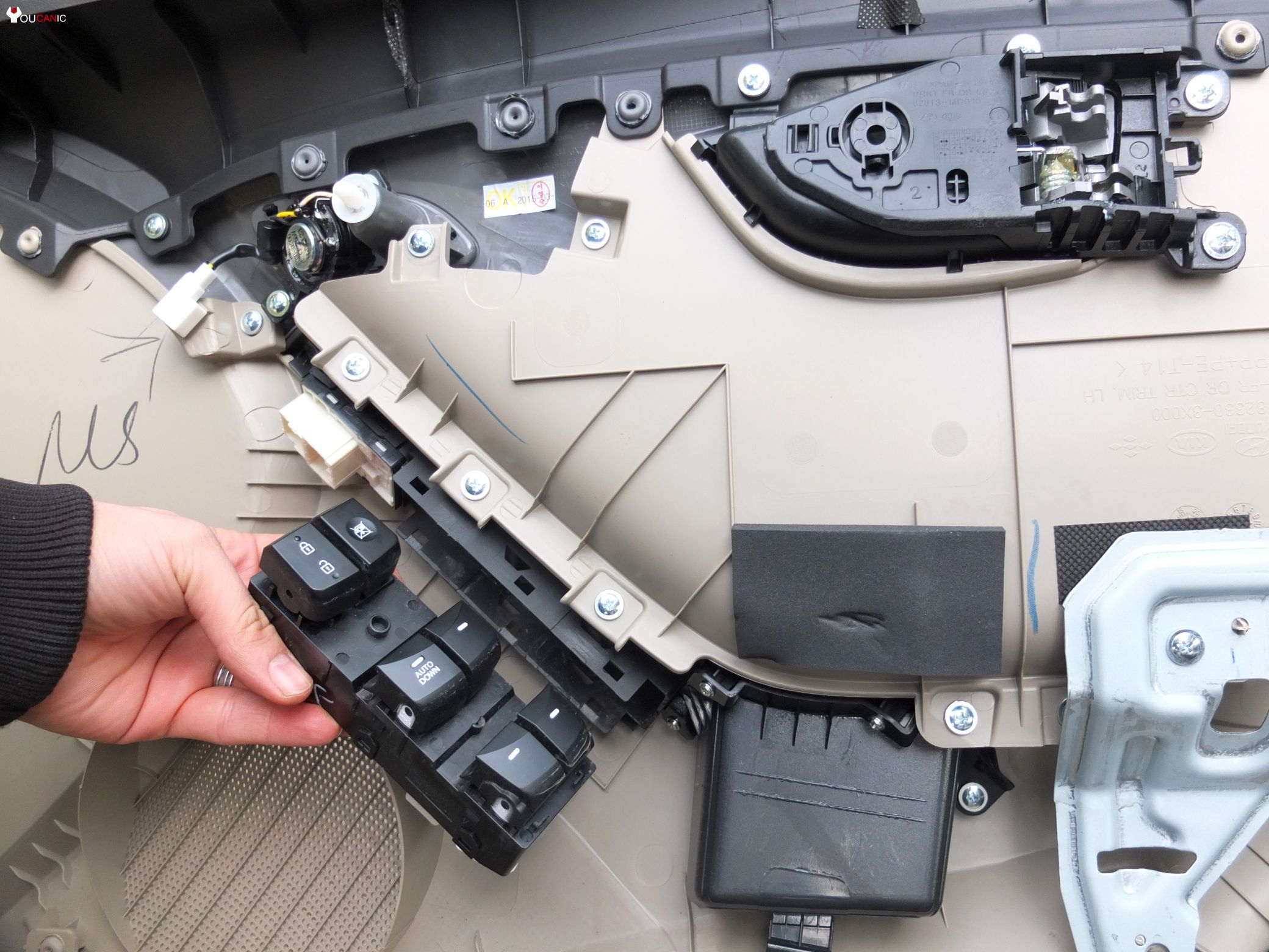 hyundai elatra door switch replacement diy guide