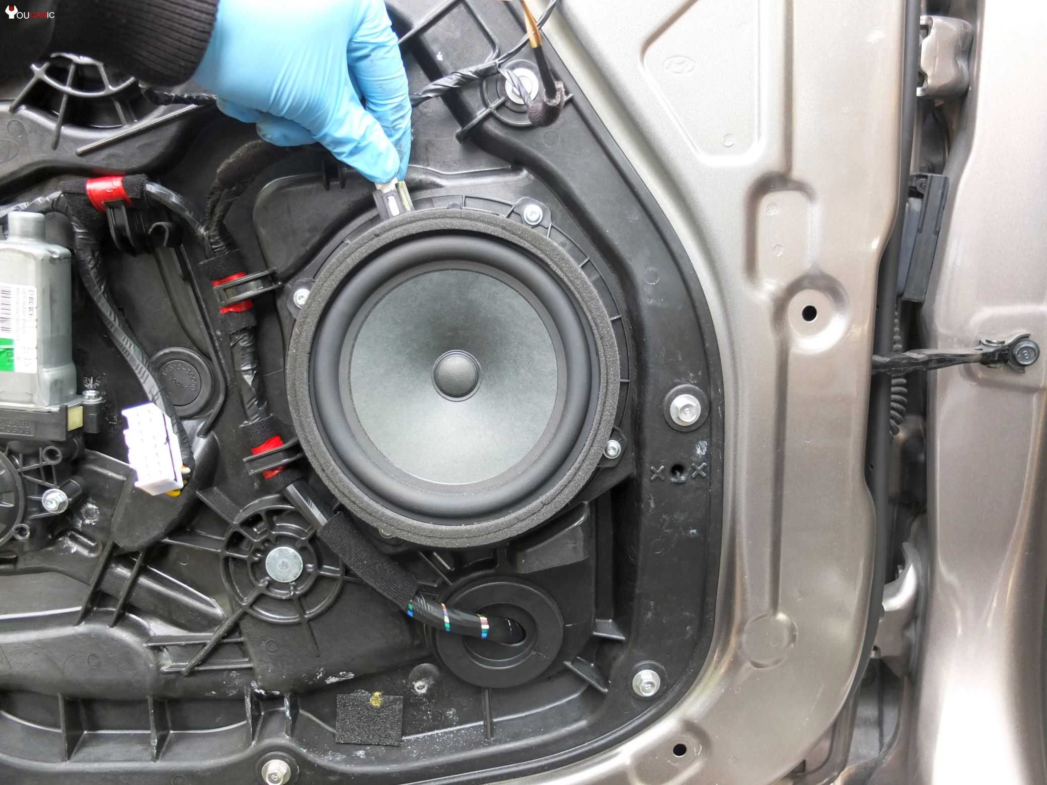How to replace door speaker Hyundai. How to upgrade Hyundai Door Speaker
