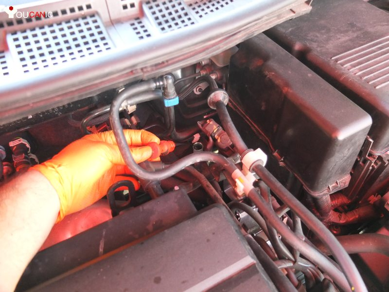 how to add automatic transmission fluid on Mazda