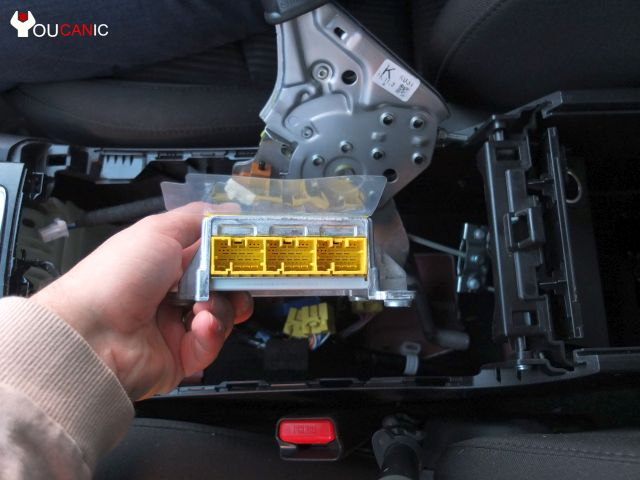 how to change replace mazda airbag module