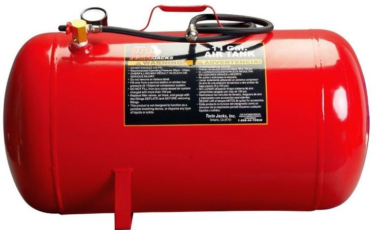 portable air tank for pneumatic tools